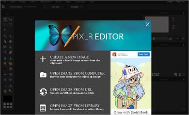 autodesk pixlr editor