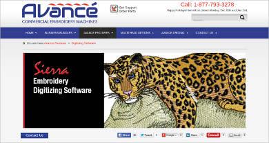 avance digitizing software
