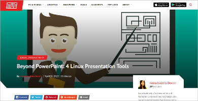 beyond power point for linux