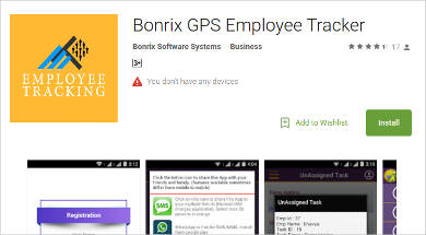 bonrix gps employee tracker for android