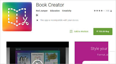 book creator for android