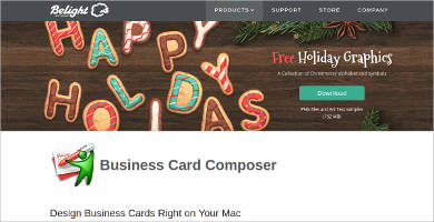 8 best vcard creator software free download for windows mac business card composer details reheart Images