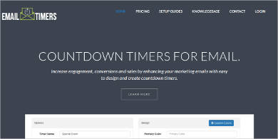 countdown timers for email