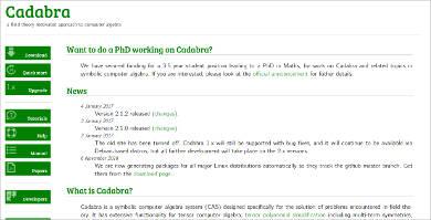 cadabra for linux