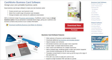 cardworks business card software for mac