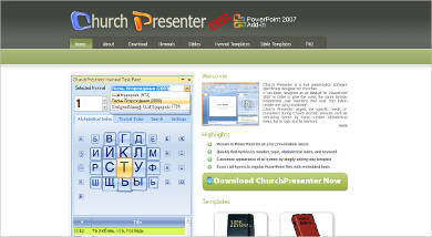 church presenter