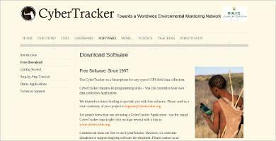 cybertracker most popular software
