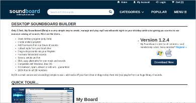 desktop soundboard builder