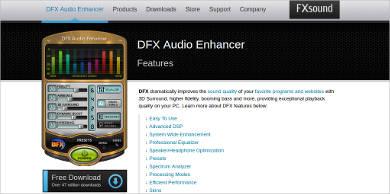 dfx most popular software