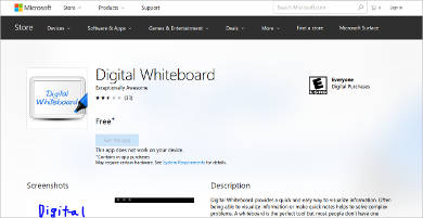 digital whiteboard for windows