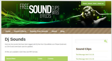 dj sounds