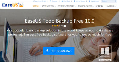 easeus todo backup free most popular software