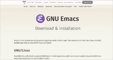 emacs for windows