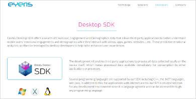 emovu desktop sdk most popular software