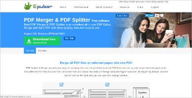 epubor pdf splitter for mac
