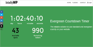 evergreen countdown timer