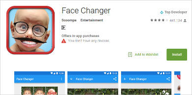 face changer for android
