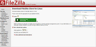filezilla for windows