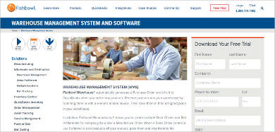fishbowl warehouse management software