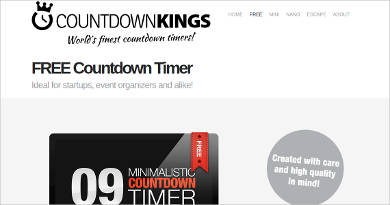 free countdown email  Windows