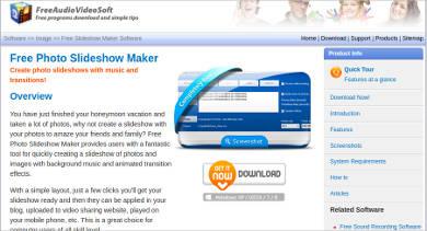 free photo slideshow maker