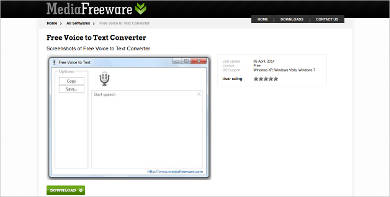 free voice to text converter1