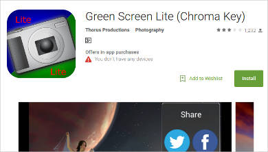 green screen lite for android