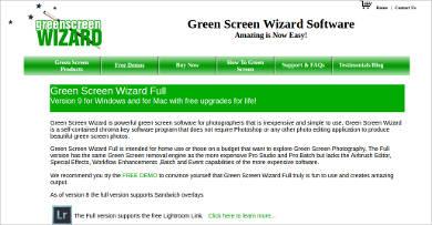 green screen wizard full for windows