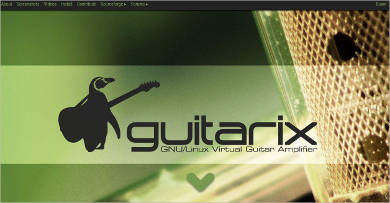 guitarix for linux