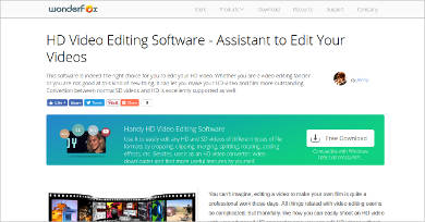 handy hd video editing software