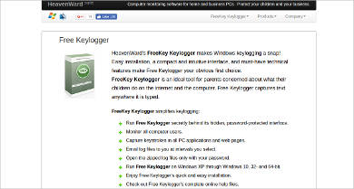 heavenwards freekey keylogger