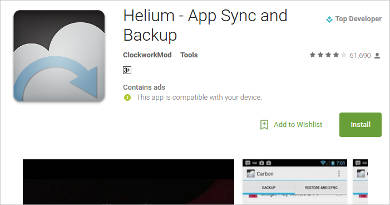 helium for android