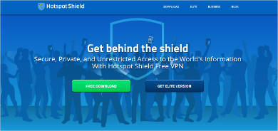 hotspot shield most popular software1