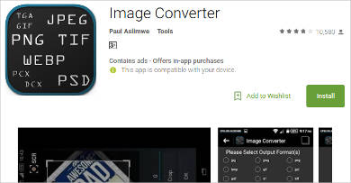 image converter for android