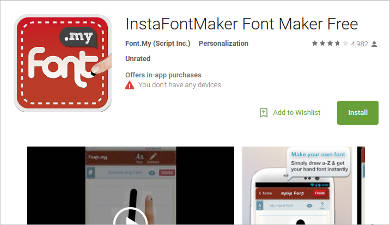 instafontmaker for android