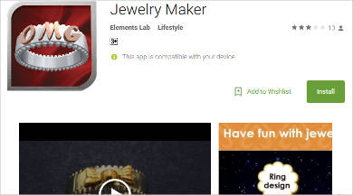 jewelry maker for android