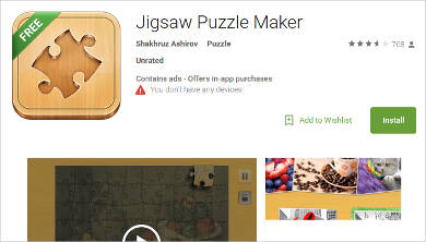jigsaw puzzle maker for android