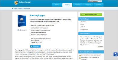 kakasoft free keylogger