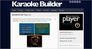 karaoke builder player