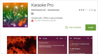 karaoke pro for android