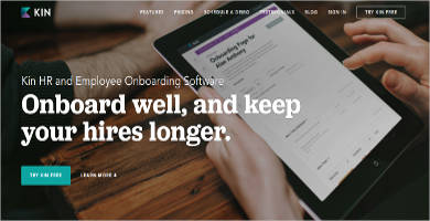 kin hr and employee onboarding most popular software