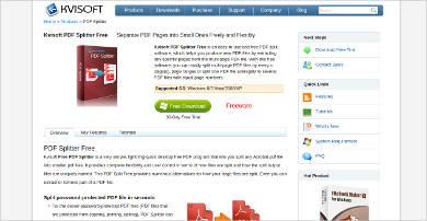 kvisoft pdf splitter free