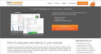 lansweeper it asset management