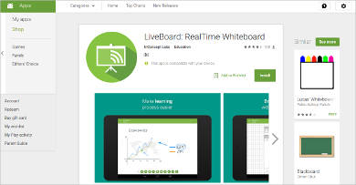 liveboard realtime whiteboard for android
