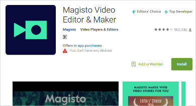 magisto video editor maker for android