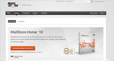 mailstore home%c2%ae 10 for windows