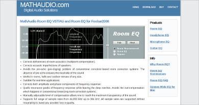 mathaudio room eq vst au and room eq for foobar2000