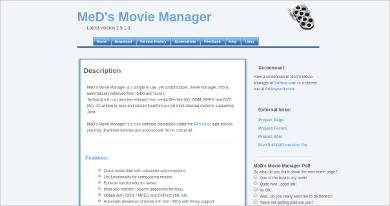 meds movie manager