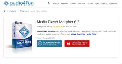 media player morpher 6