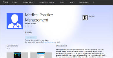 medical practice management for windows